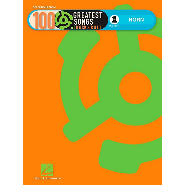 Hal LeonardVH1's 100 Greatest Songs Of Rock & Roll Horn (Book Only)