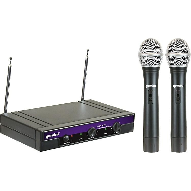 GeminiVHF-2001M Dual Handheld Wireless SystemS26