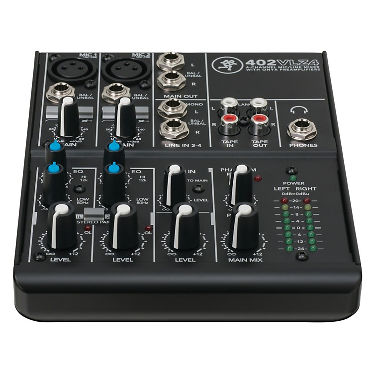MackieVLZ4 Series 402VLZ4 4-Channel Ultra Compact Mixer