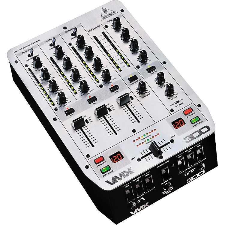 Behringer VMX300 3-Channel Pro Scratch Mixer