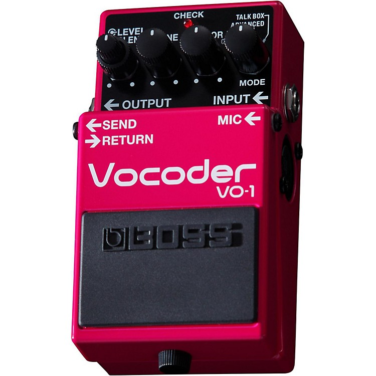 BossVO-1 Vocoder Effects Pedal