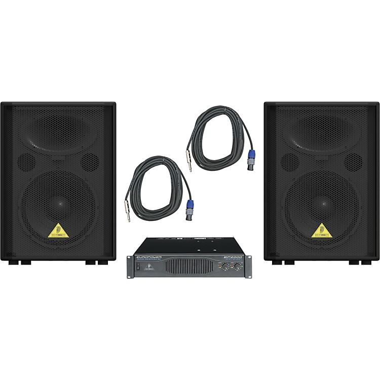 BehringerVP1220 / EP2000 Speaker & Amp Package