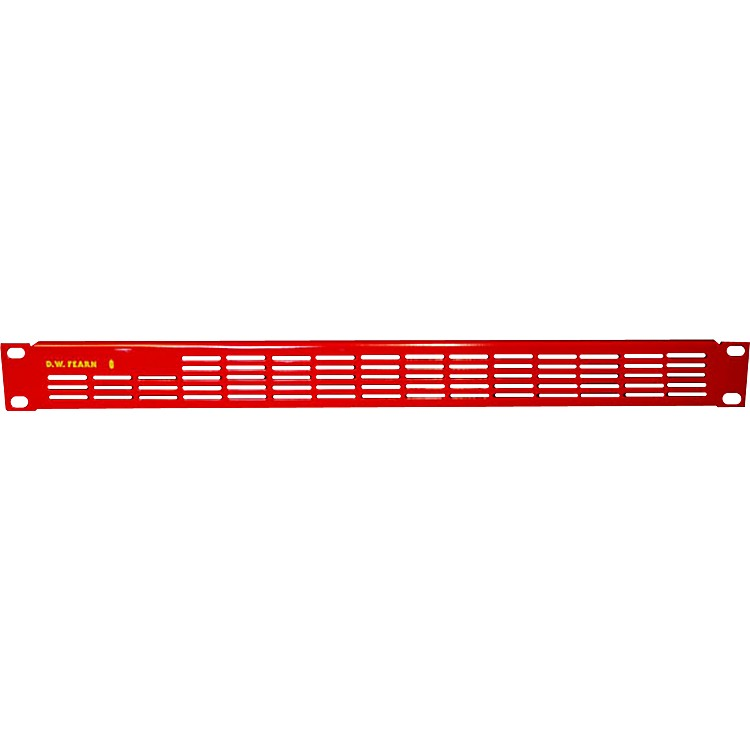 D.W. FearnVRP-1 Red Vented Rack Panel