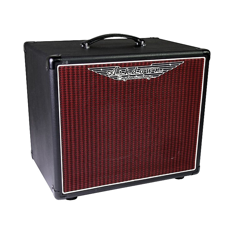 Ashdown VS-112-200 1x12 Bass Speaker Cabinet 150W Black and Red 8 Ohm