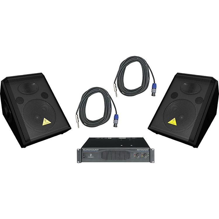 BehringerVS1220F / EP2000 Speaker & Amp Package
