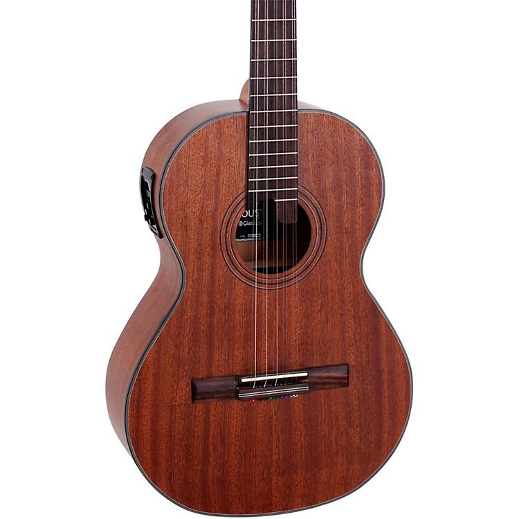 GianniniVSA-2 EQ Sapelle Top Brazilian 10-String Acoustic-Electric ViolaSatin Walnut