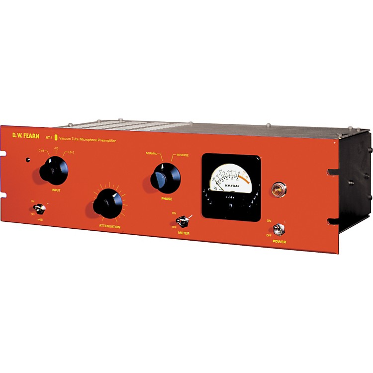 D.W. FearnVT-1 Single Channel Vacuum Tube Microphone Preamp