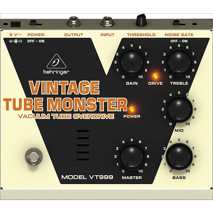 BehringerVT999 Vintage Tube Monster Classic Tube Overdrive Guitar Effects Pedal
