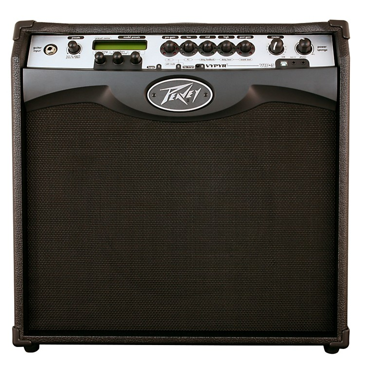 Peavey VYPYR VIP 3 100W 1x12 Guitar Modeling Combo Amp Black