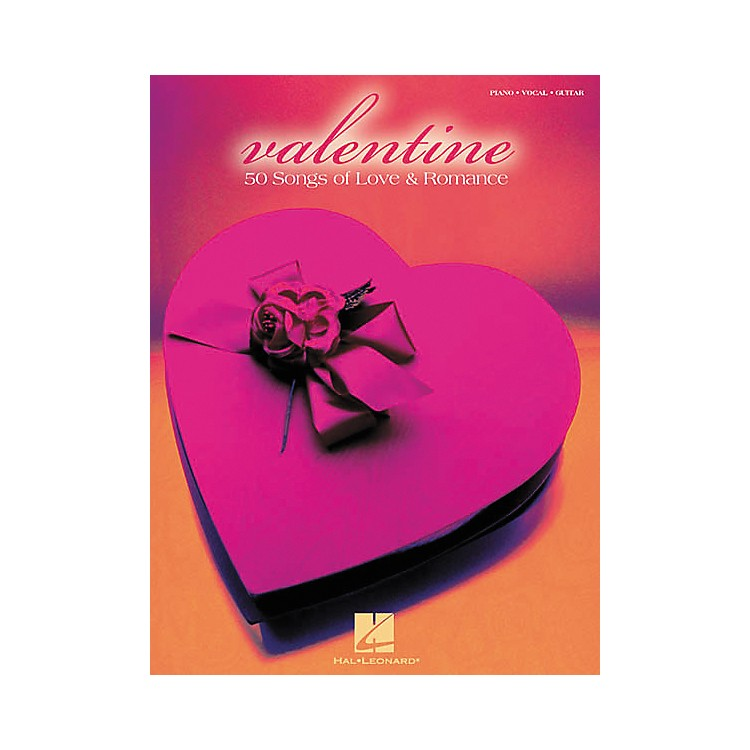 Hal LeonardValentine Piano, Vocal, Guitar Songbook