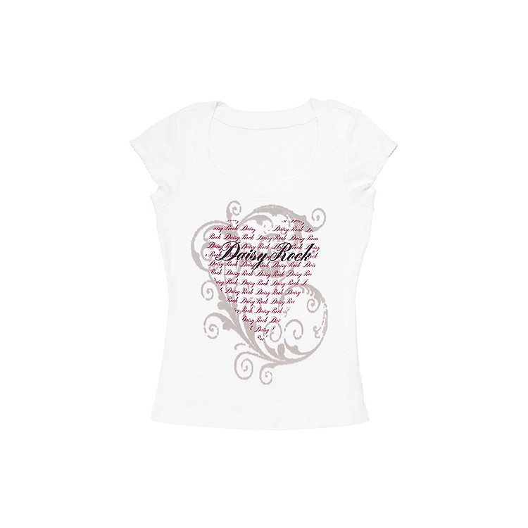 Daisy Rock Valentine T-Shirt Small White