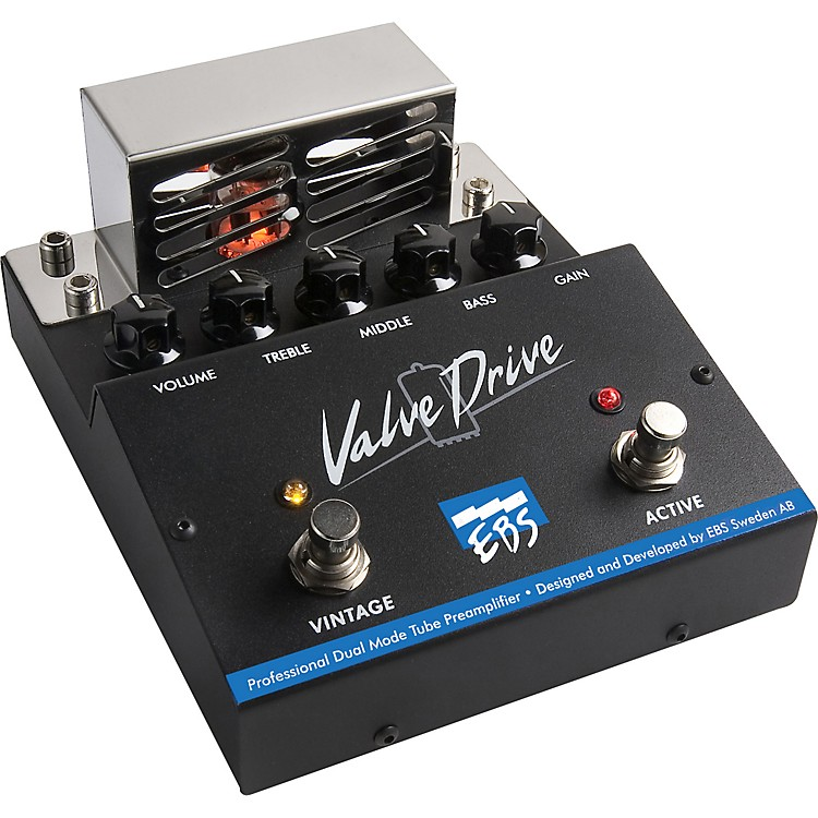 EBSValveDrive Pro Dual Mode Tube Overdrive Effects Pedal