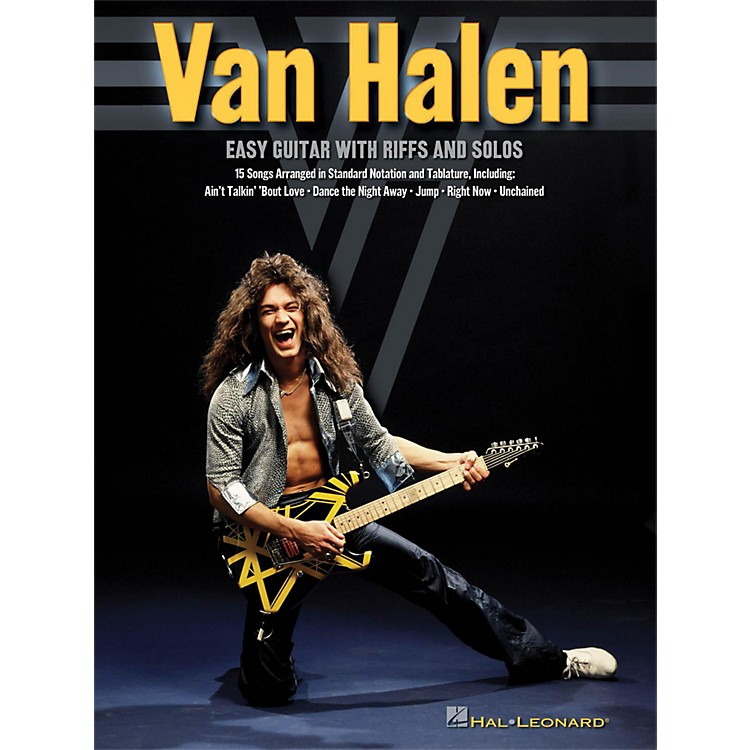 Hal Leonard Van Halen - Easy Guitar With Riffs And Solos (With Tab)