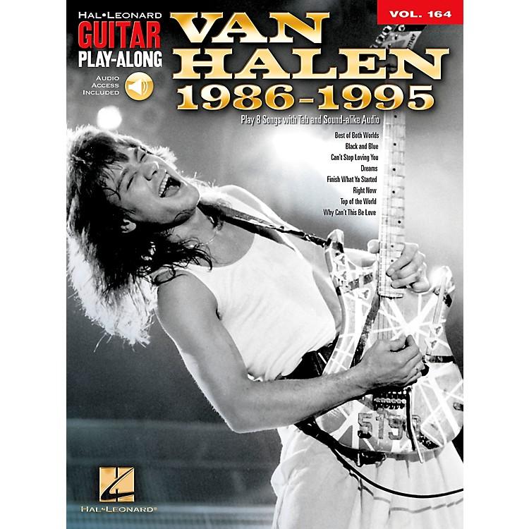 Hal LeonardVan Halen 1986-1995 - Guitar Play-Along Vol. 164 Book/CD