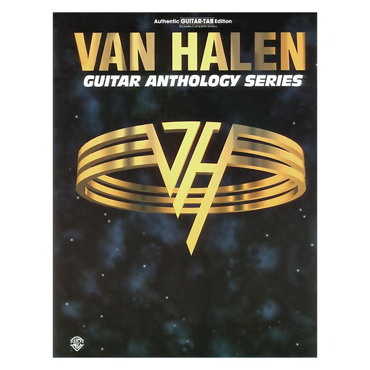 AlfredVan Halen Anthology Series Guitar Tab Book