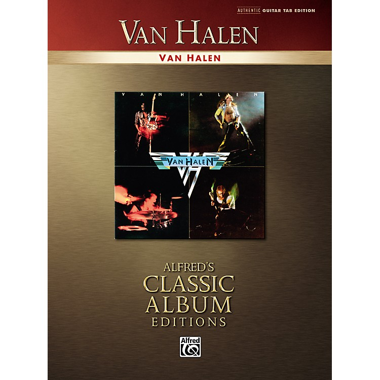 AlfredVan Halen Collection Classic Album Edition Guitar Tab Songbook
