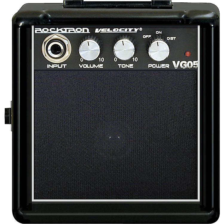 Rocktron Velocity Series VG05 Battery Powered Guitar Combo Amp Black