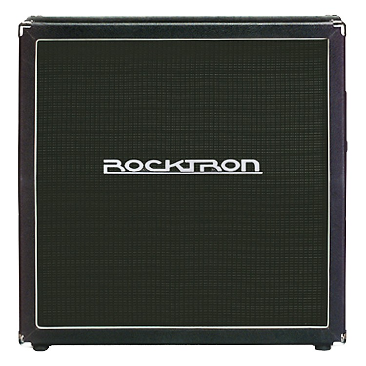 Rocktron Vendetta Series V412 240W 4x12 Guitar Extension Cabinet with Celestion and Eminence Speakers Black Slant