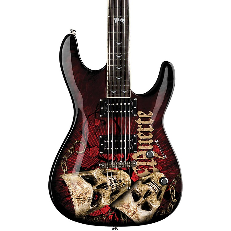 Dean Vendetta Teatro De La Muerte Electric Guitar Graphic