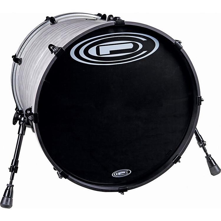 Orange County Drum & PercussionVenice Bass Drum20x20Black White Strata