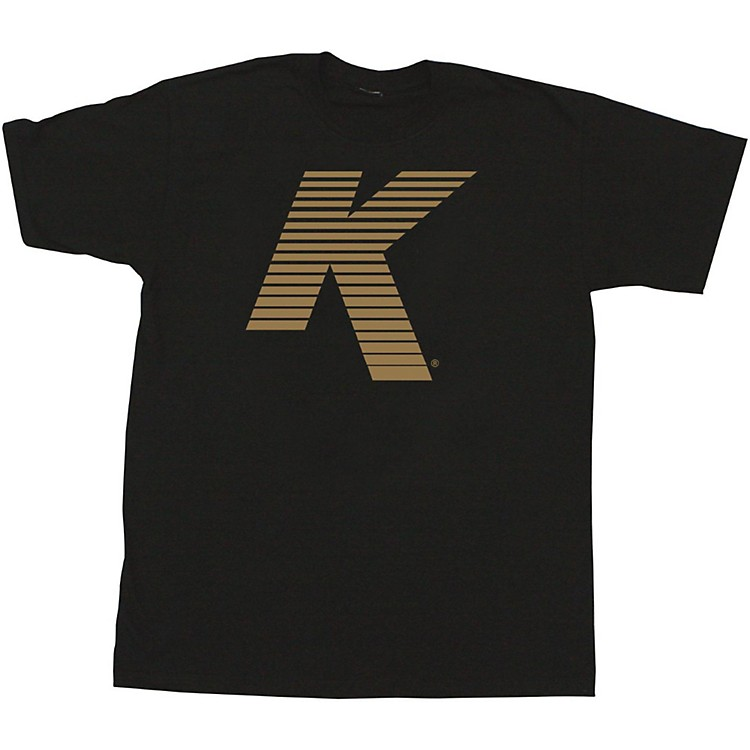 ZildjianVented K T-ShirtBlackLarge
