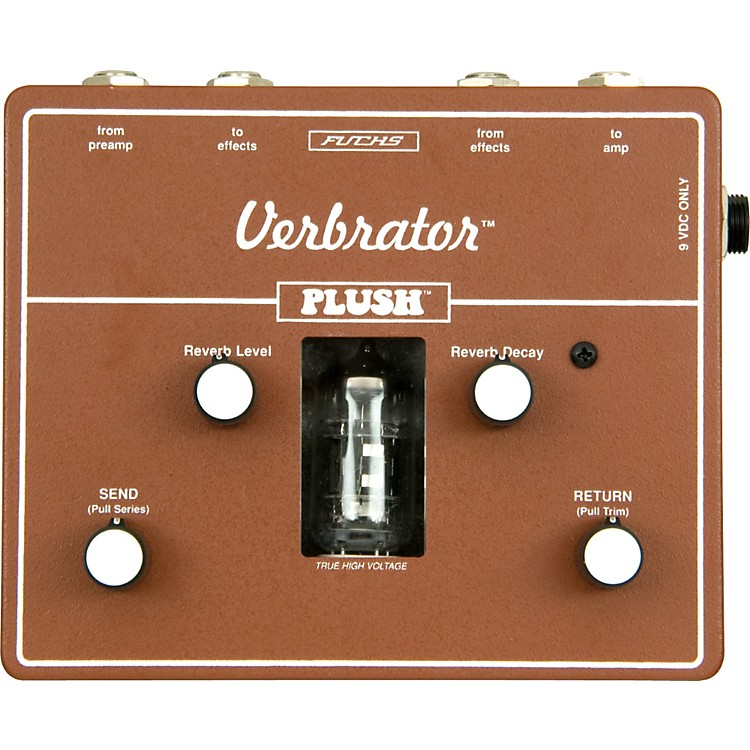 Plush Verbrator Loop and Reverb Guitar Effects Pedal