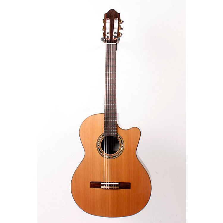 Kremona Verea Cutaway Acoustic-Electric Nylon Guitar Natural 888365117591