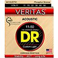 DR Strings Veritas - Perfect Pitch with Dragon Core Technology Custom Light Acoustic Strings (11-50)