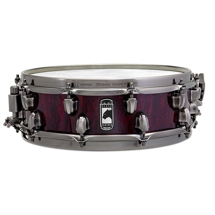 MapexVersatus Russ Miller Artist Inspired Black Panther Snare Drum14 x 4.5 in.