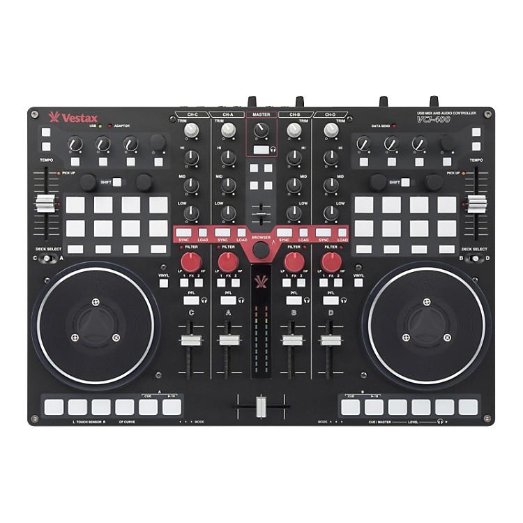 VestaxVestax VCI-400 DJ Controller includes Serato DJ Intro