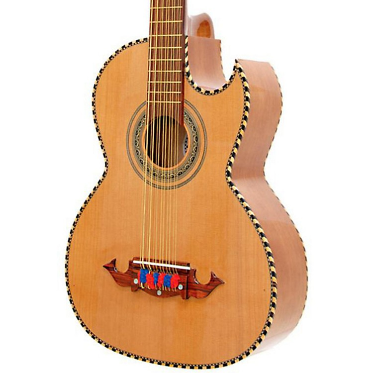 Paracho Elite Guitars Victoria 12 String Bajo Sexto Natural