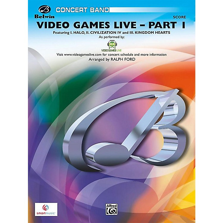 Alfred Video Games Live, Part 1 Grade 3 (Medium Easy)