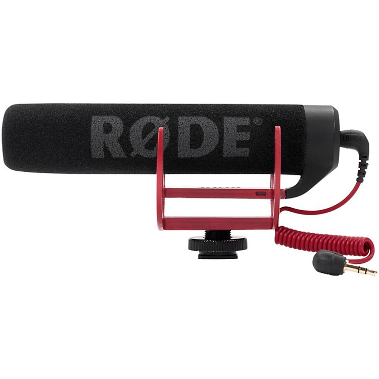 Rode MicrophonesVideoMic GO On-Camera Shotgun Microphone