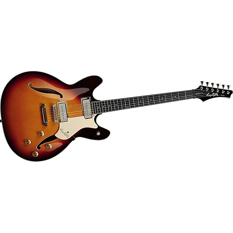 Hagstrom Viking 2P Electric Guitar Vintage Sunburst