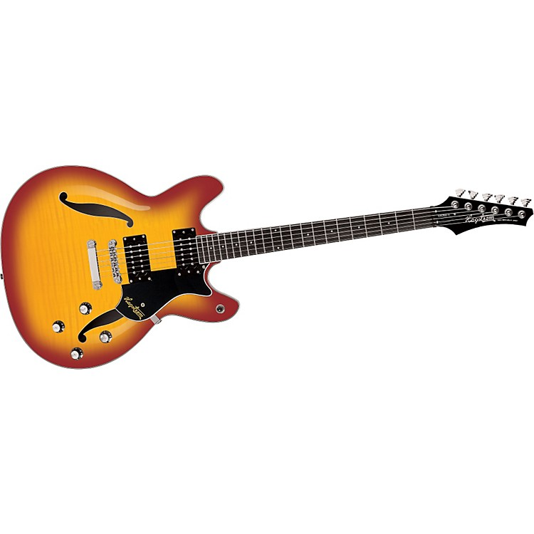 Hagstrom Viking II Electric Guitar Cherry Sunburst