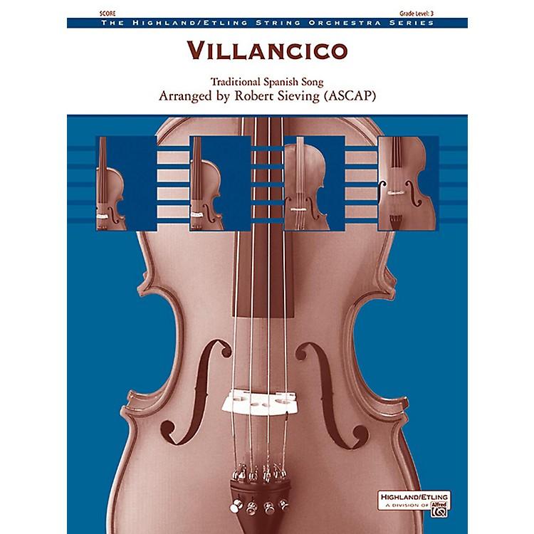 AlfredVillancico String Orchestra Grade 3
