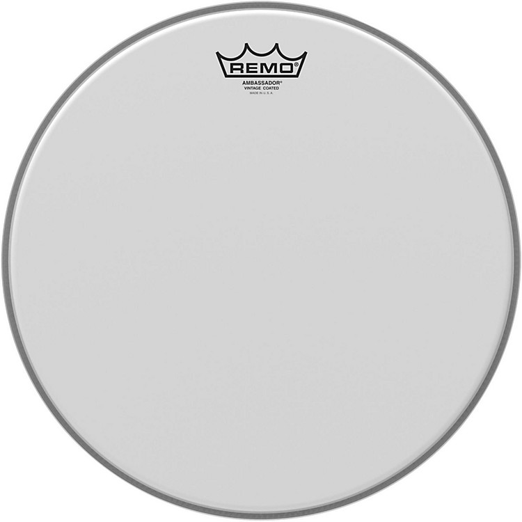 Remo Vintage Ambassador Coated Batter Drumhead 14 in.