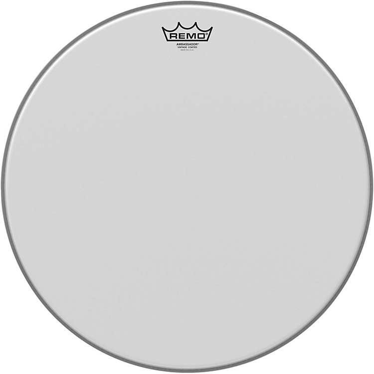 Remo Vintage Ambassador Coated Batter Drumhead 18 in.