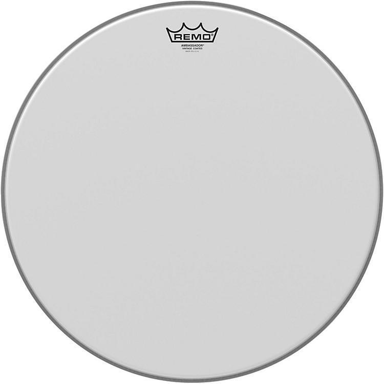 RemoVintage Ambassador Coated Batter Drumhead18 in.