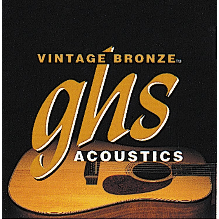 GHS Vintage Bronze 85/15 Acoustic Strings Extra Light
