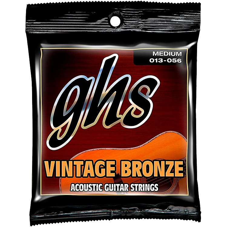GHS Vintage Bronze 85/15 Acoustic Strings Medium