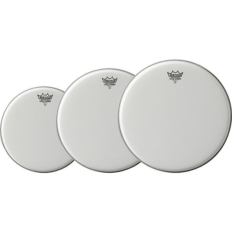Remo Vintage Emperor Drum Head 3-Pack, 13/16/18