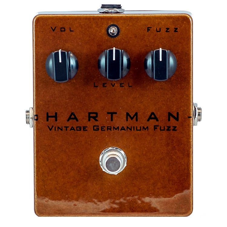 Hartman Electronics Vintage Germanium Fuzz Guitar Effects Pedal
