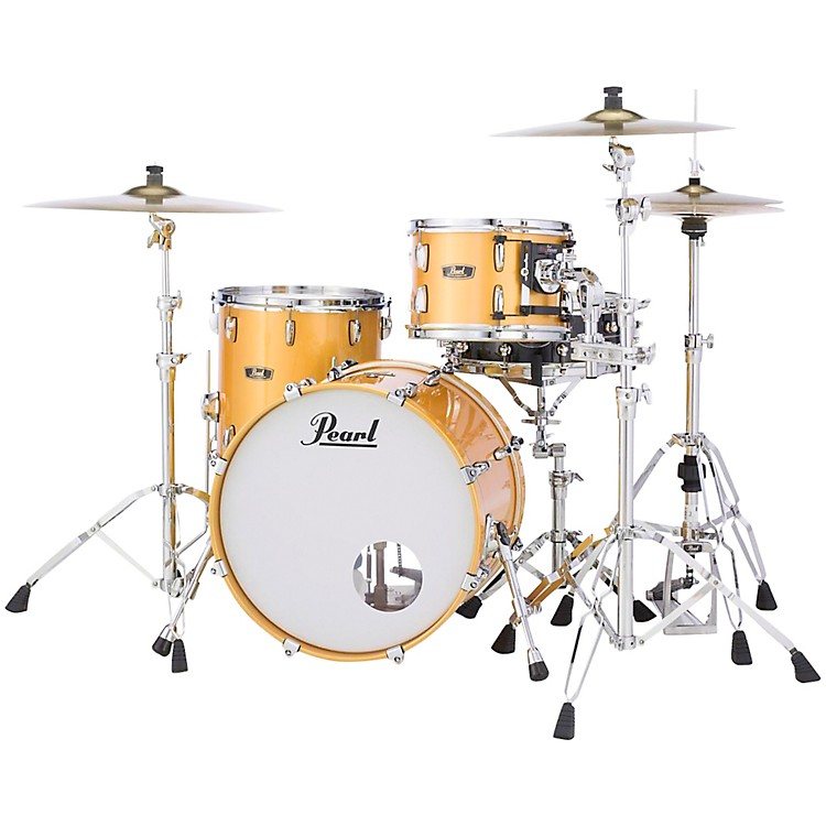 Pearl Vintage Hybrid Wood Fiberglass Series 3-piece Shell Pack Antique Gold