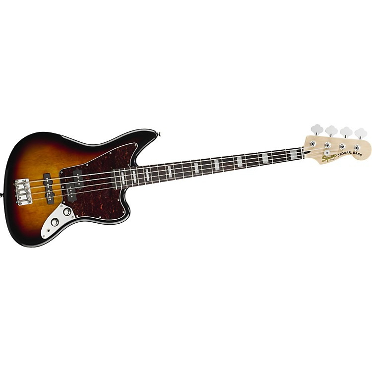 Squier Vintage Modified Jaguar Bass 3-Color Sunburst Rosewood Fretboard
