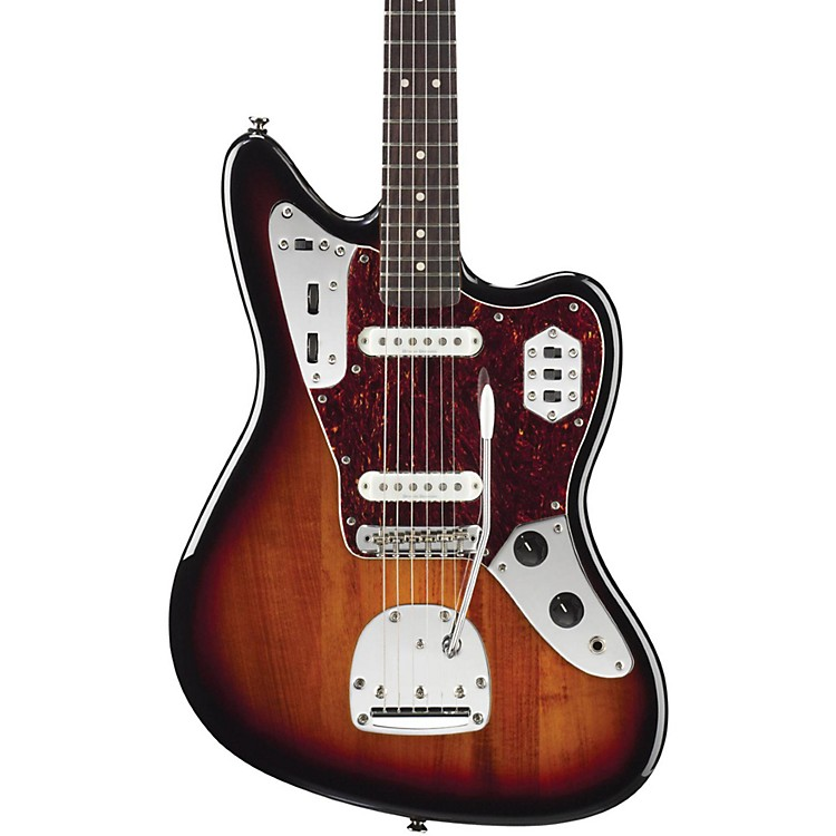 SquierVintage Modified Jaguar Electric Guitar3-Color SunburstRosewood Fingerboard
