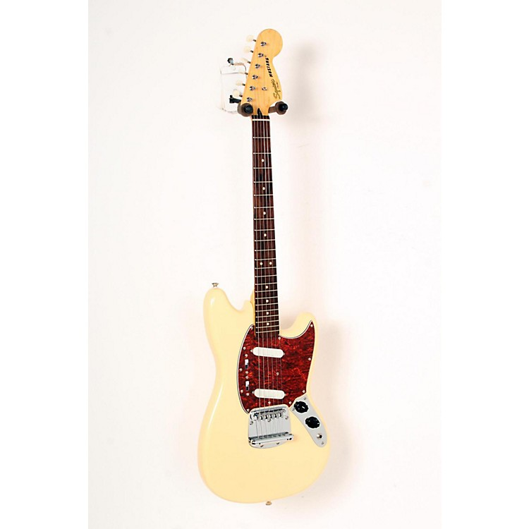 Squier Vintage Modified Mustang Electric Guitar Vintage White, Rosewood Fingerboard 888365828367
