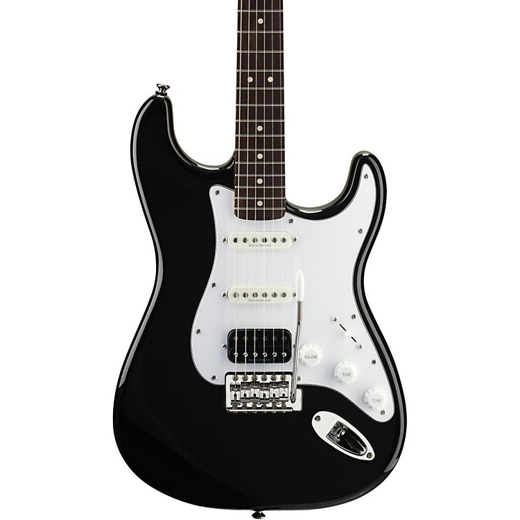 Squier Vintage Modified Stratocaster HSS Electric Guitar Black Rosewood Fretboard