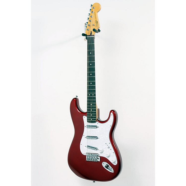 Squier Vintage Modified Stratocaster Surf Electric Guitar Candy Apple Red 886830668197