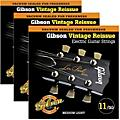 Gibson Vintage Reissue 3-Pack VR11 Electric Guitar Strings